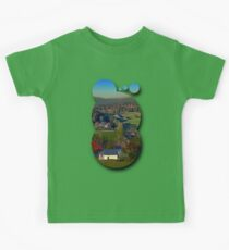 Beautiful autumn scenery | landscape photography Kids Clothes