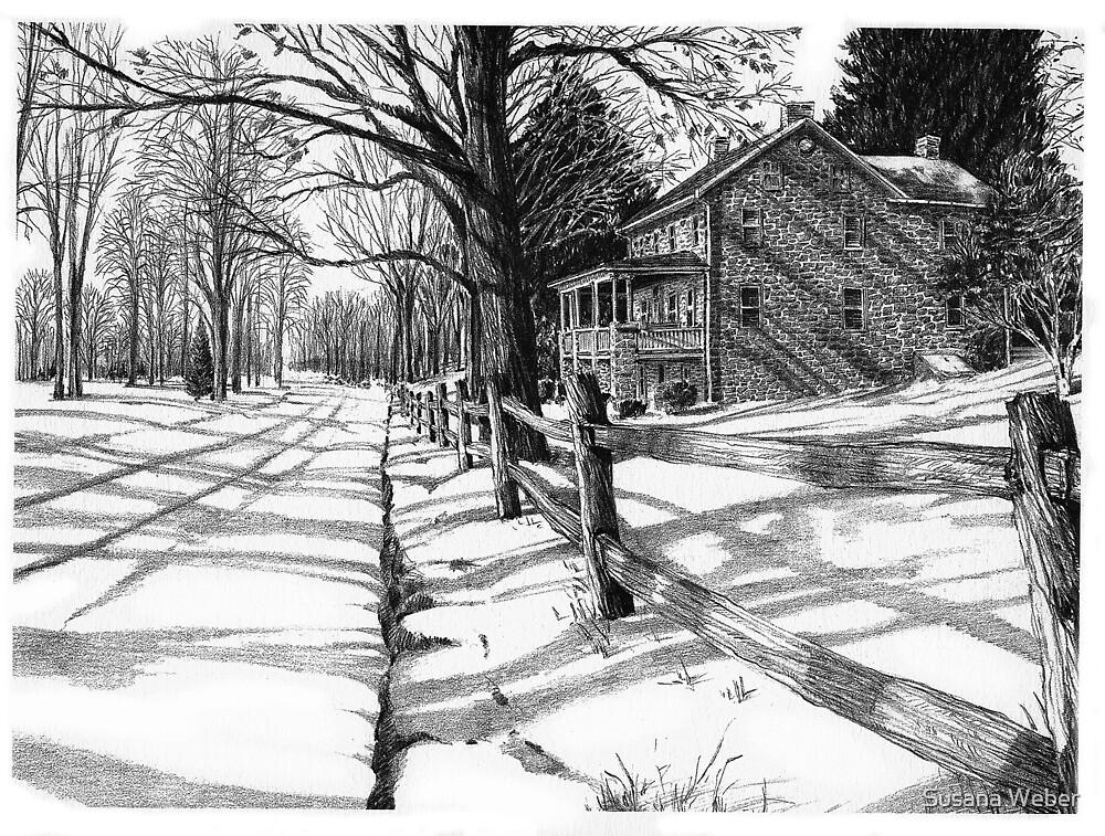 The Stonemason's House - Bucks County, PA by Susana Weber