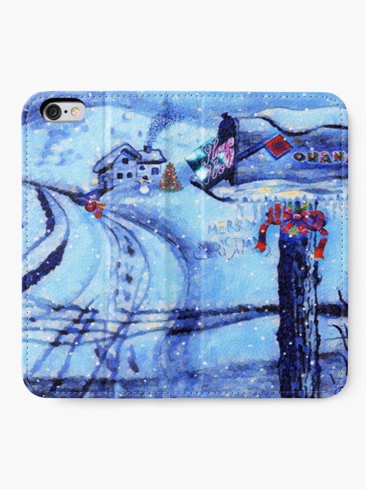 Alternate view of HOME FOR THE HOLIDAYS iPhone Wallet