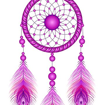 The dreamcatcher purple by Cocotteetloulou