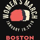 Women's March 2019 Boston by oddduckshirts