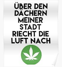PALMEN AUS PLASTIK - Marihuana 187 Lyrics Poster
