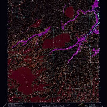 USGS TOPO Map Louisiana LA Bayou Du Large 334267 1964 62500 Inverted by wetdryvac