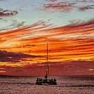 Sunset Sail by Lanis Rossi