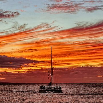 Sunset Sail by lanrophot