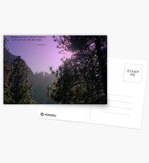 Live your dreams Postkarten
