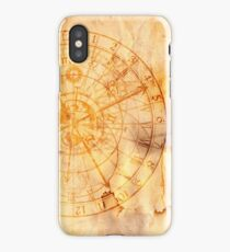 Zodiac signs and astronomical clock iPhone Case/Skin