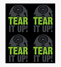 Tear It Up Photographic Print