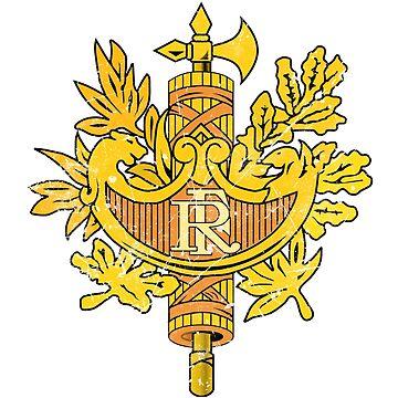 France Diplomatic Emblem by quark