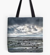 Loch Gilp at low tide Tote Bag