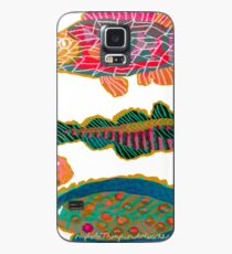 Colorful Abstract Fish Art  Case/Skin for Samsung Galaxy