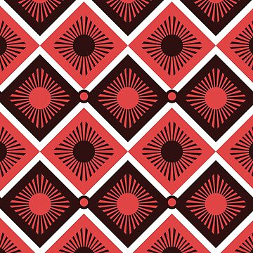 Geometric African pattern by hypnotzd