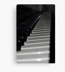 Keys On A Keyboard Canvas Print