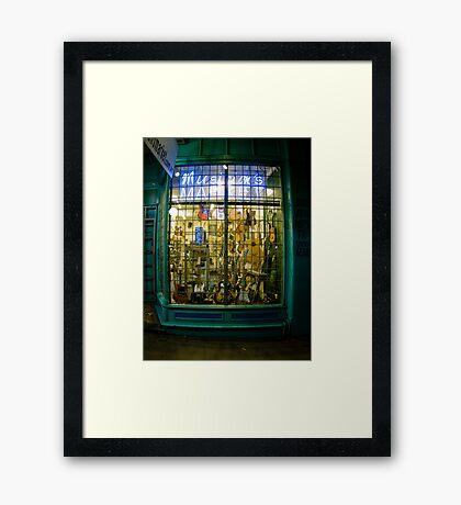 Musician's Market Framed Print