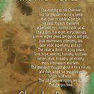 Die zwei Wölfe, Cherokee-Sprichwort von Irisangel