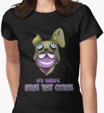Camiseta entallada para mujer Purple Guy Hoodie