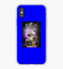 Vinilo o funda para iPhone espacio nebulosa perezosa