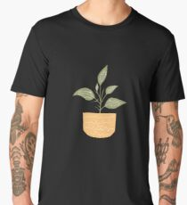 Little yellow pot Men's Premium T-Shirt