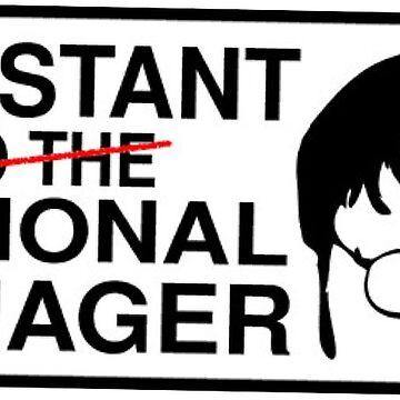 The Office Sticker Dwight Schrute by katherineshek