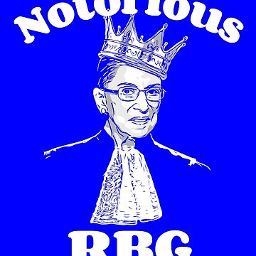 Notorious Ruth Bader Ginsburg by Scoopivich