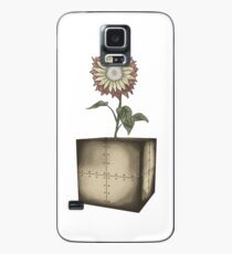 Mario Fire Flower Botanical Illustration Case/Skin for Samsung Galaxy