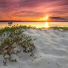 Bribie Island Sundown - Qld Australia by Beth  Wode