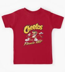 Flamin 'heiße Cheetos Kinder T-Shirt