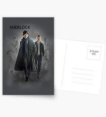 BBC Sherlock Postcards