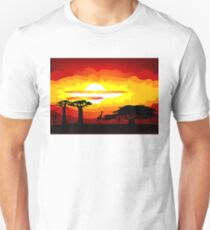Africa sunset T-Shirt