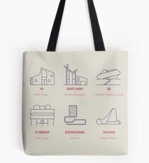 Architecture Line Design Tote Bag