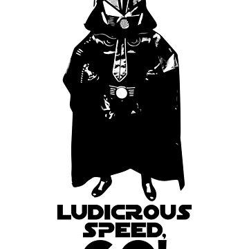 Ludicrous Speed, GO! by superflygeckos