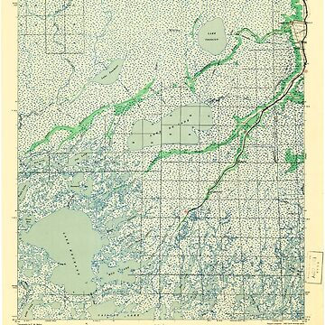 USGS TOPO Map Louisiana LA Bayou Du Large 334262 1941 62500 by wetdryvac