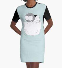 POCKET CATANA Graphic T-Shirt Dress