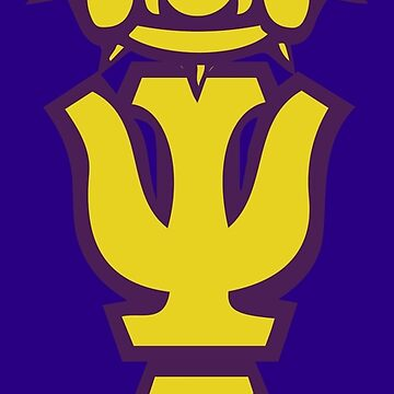 Que Dog Omega Purple Gold Atomic Psi Phi by AlienatedOpus