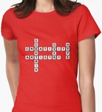 Puzzled Women's Fitted T-Shirt