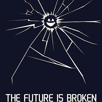 The Future Is Broken Smile Black Mirror by MaginStudios