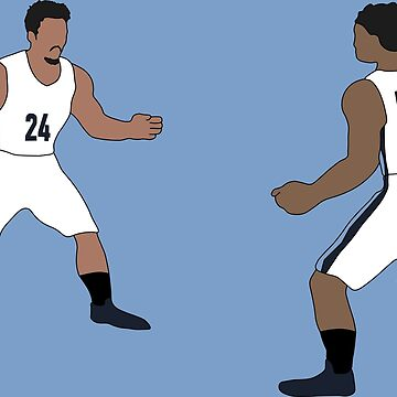 Marshon And Dillon Brooks Spiderman Meme by RatTrapTees