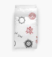 Übernatürliche Sigillen und Symbole Bettbezug