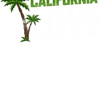 California Love Palm Tree by KanigMarketplac
