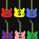 Rainbow Guitar by Pretty Fly