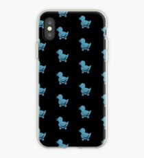 Blue Duck Toy iPhone Case