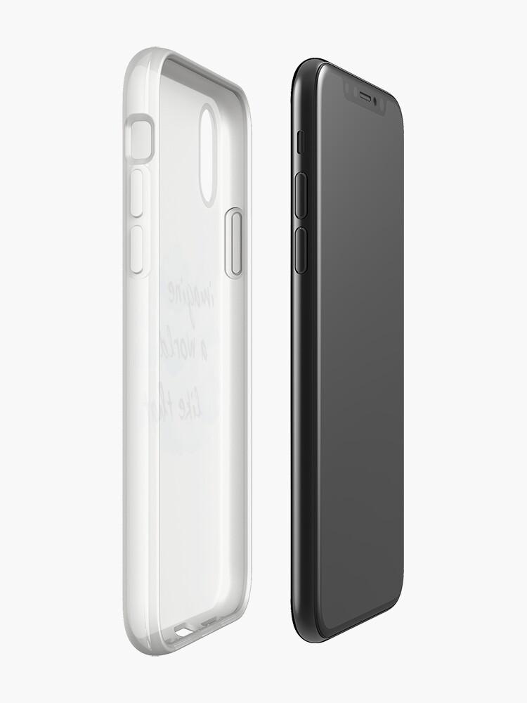 Vista alternativa de Funda y vinilo para iPhone imagina