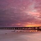 Shorncliffe Sunrise - Qld Australia by Beth  Wode