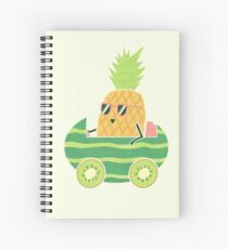 Summer Drive Spiral Notebook