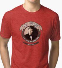 Mr. Wolf Tri-blend T-Shirt