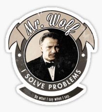 Mr. Wolf Sticker