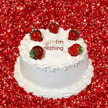 I'm nothing cake  by SmolYoonbum