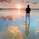Standing on a Cloud - Wellington Point Qld Australia by Beth  Wode