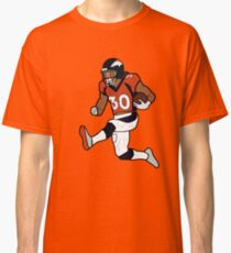 Phillip Lindsay Touchdown Celebration - Denver Broncos Classic T-Shirt ec9cba2d3