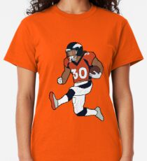 Phillip Lindsay Touchdown Celebration - Denver Broncos Classic T-Shirt